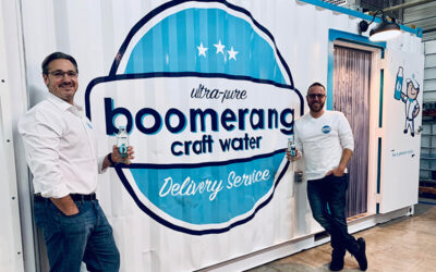 034: Boomerang Water Company – Sustainable Bottled Water Startup Launches in Davidson