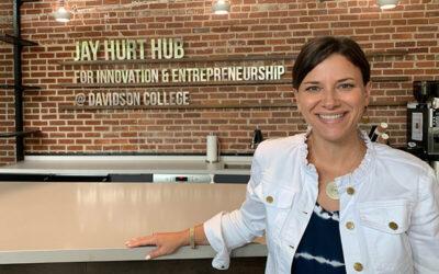 067: Liz Brigham – Director of The Jay Hurt Hub for Innovation and Entrepreneurship at Davidson College